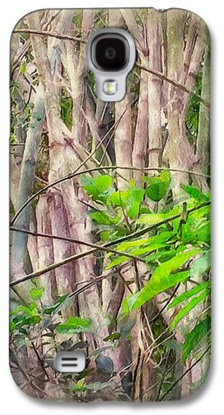 Bamboo House Galaxy S4 Cases - Bamboo forest at Lamma island Hong Kong Galaxy S4 Case by Yury Malkov