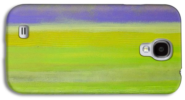 Abstract Landscape Sculptures Galaxy S4 Cases - Banana Republic Galaxy S4 Case by J Price Garner