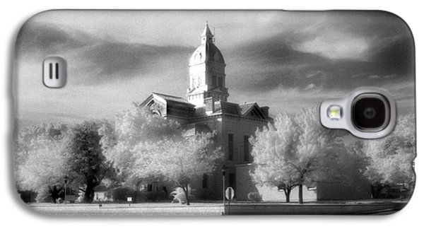 First Lady Galaxy S4 Cases - Bandera County Courthouse Galaxy S4 Case by Greg Kopriva