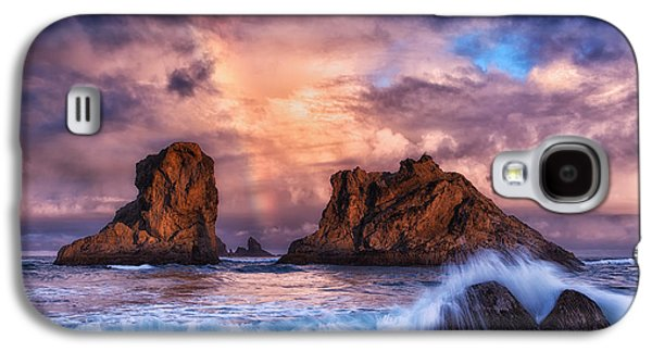 Storm Prints Photographs Galaxy S4 Cases - Bandon Beauty Galaxy S4 Case by Darren  White