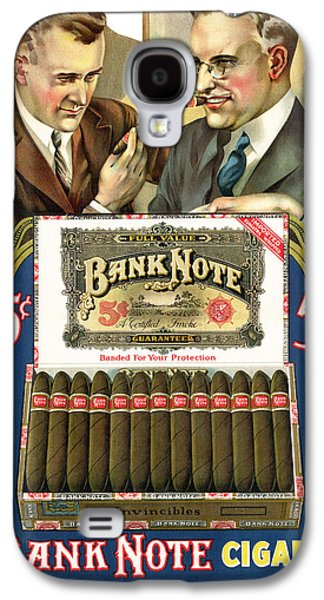 Digital Galaxy S4 Cases - Bank Note Cigars Galaxy S4 Case by Gary Grayson