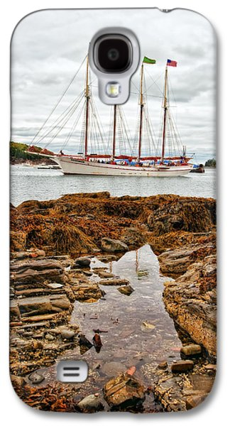 Best Sailing Photos Galaxy S4 Cases - Bar Harbor Galaxy S4 Case by Marcia Colelli