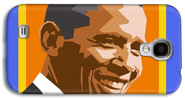 Obama Galaxy S4 Cases - Barack Galaxy S4 Case by Douglas Simonson