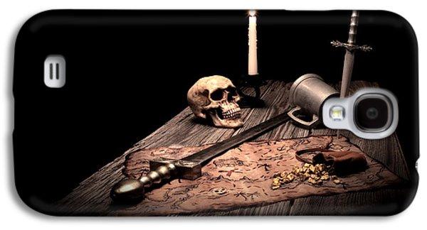 Tankard Galaxy S4 Cases - Barbarian Quest Galaxy S4 Case by Tom Mc Nemar