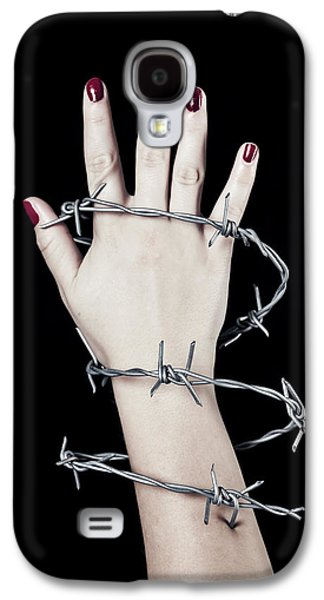 Barbed Wire Galaxy S4 Case by Joana Kruse