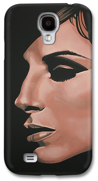 Work Of Art Galaxy S4 Cases - Barbra Streisand Galaxy S4 Case by Paul Meijering