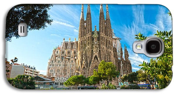 Recently Sold -  - Fantasy Photographs Galaxy S4 Cases - Barcelona - La Sagrada Familia Galaxy S4 Case by Luciano Mortula
