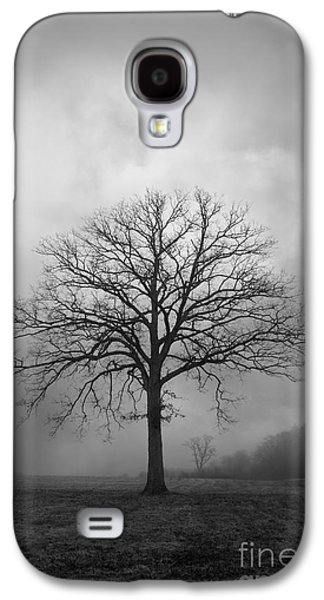 Gordon Photographs Galaxy S4 Cases - Bare Tree And Clouds BW Galaxy S4 Case by Dave Gordon