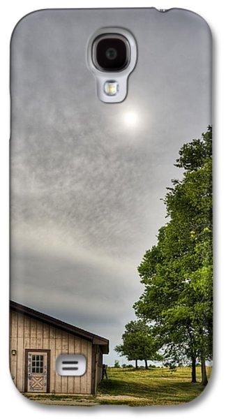 Indiana Scenes Galaxy S4 Cases - Barn Galaxy S4 Case by Alexey Stiop