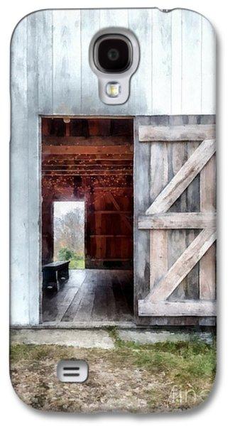 New England Barns Galaxy S4 Cases - Barn Dance Galaxy S4 Case by Edward Fielding