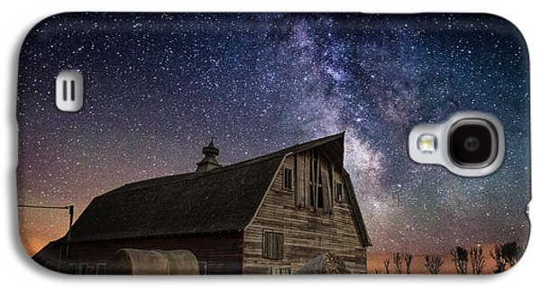 Astrophotography Galaxy S4 Cases - Barn IV Galaxy S4 Case by Aaron J Groen