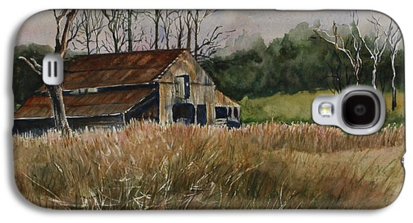 Janet Felts Galaxy S4 Cases - Barn Off the Road Galaxy S4 Case by Janet Felts