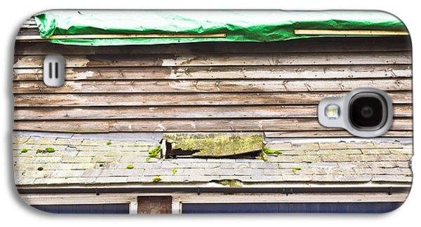 Torn Galaxy S4 Cases - Barn repairs Galaxy S4 Case by Tom Gowanlock