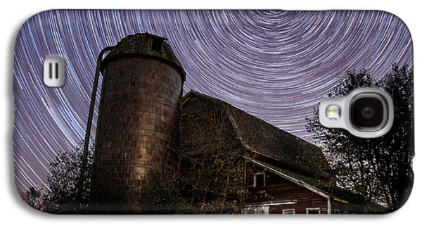 Red Barns Galaxy S4 Cases - Barn Trails Galaxy S4 Case by Aaron J Groen