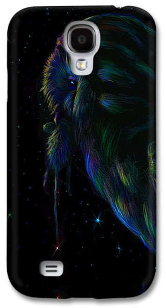 Snowy Digital Art Galaxy S4 Cases - Barn watch  Galaxy S4 Case by Yusniel Santos