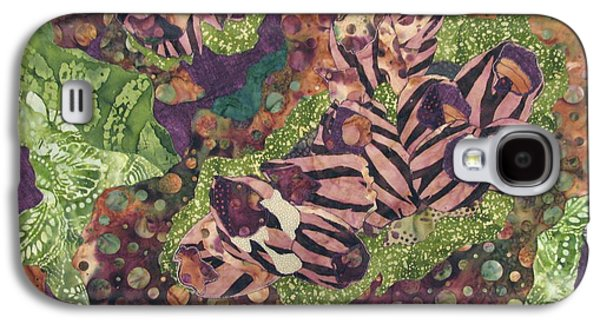 Nature Abstract Tapestries - Textiles Galaxy S4 Cases - Barnacles Galaxy S4 Case by Lynda K Boardman