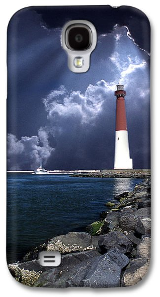 Americans Galaxy S4 Cases - Barnegat Inlet Lighthouse Nj Galaxy S4 Case by Skip Willits