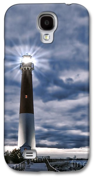 Navigation Galaxy S4 Cases - Barnegat Magic Galaxy S4 Case by Olivier Le Queinec