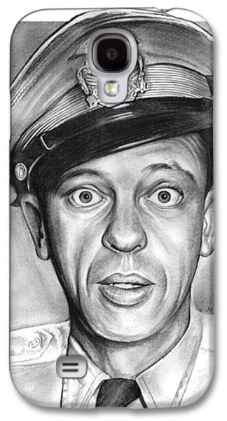 Andy Griffith Show Galaxy S4 Cases - Barney Fife Galaxy S4 Case by Greg Joens