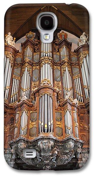 Recently Sold -  - Religious Galaxy S4 Cases - Baroque Grand Organ in Oude Kerk in Amsterdam Galaxy S4 Case by Artur Bogacki