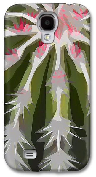 Barrel Galaxy S4 Cases - Barrel Cactus Collage Galaxy S4 Case by Carol Leigh