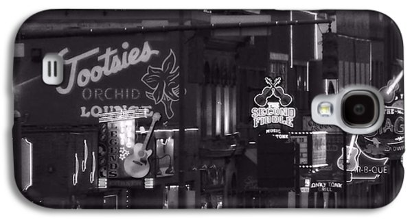 Bars On Broadway Nashville Galaxy S4 Case by Dan Sproul