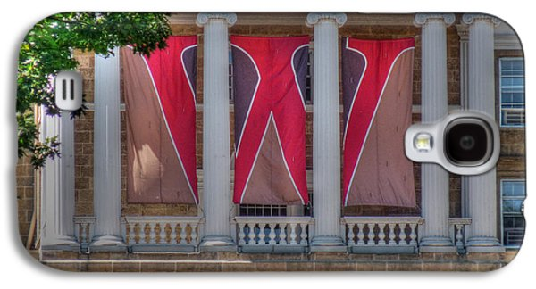 Abraham Lincoln Galaxy S4 Cases - Bascom Hall-On Wisconsin Galaxy S4 Case by David Bearden