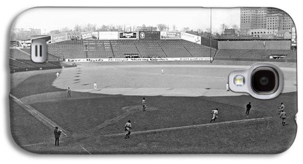 Baseball At Yankee Stadium Galaxy S4 Case by Underwood Archives