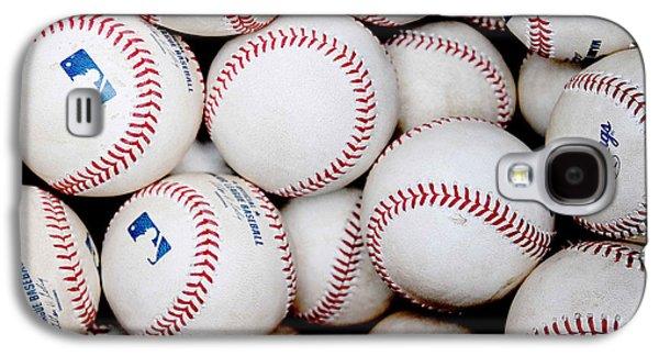 Major Galaxy S4 Cases - Baseball Color Galaxy S4 Case by Joe Hamilton
