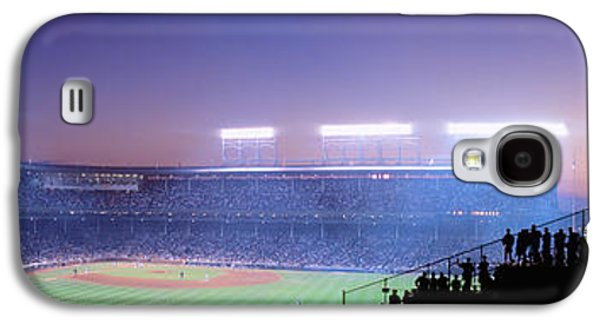 Wrigley Field Galaxy S4 Cases - Baseball, Cubs, Chicago, Illinois, Usa Galaxy S4 Case by Panoramic Images