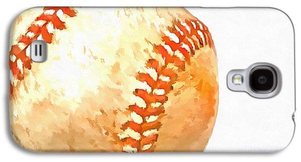 Training Photographs Galaxy S4 Cases - Baseball Galaxy S4 Case by Edward Fielding