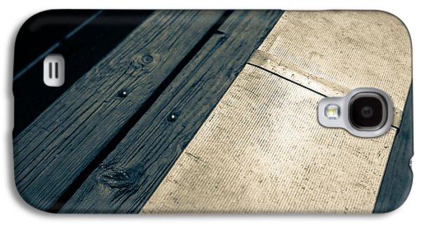 Sports Photographs Galaxy S4 Cases - Baseball Field 6 Galaxy S4 Case by Yo Pedro