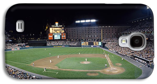 Activity Photographs Galaxy S4 Cases - Baseball Game Camden Yards Baltimore Md Galaxy S4 Case by Panoramic Images