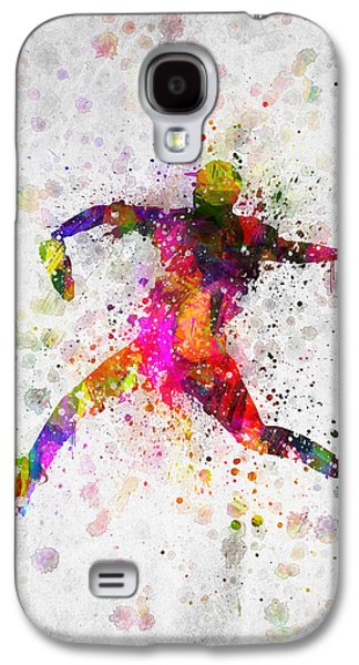 Baseball Player - Pitcher Galaxy S4 Case by Aged Pixel