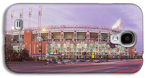 Sports Photographs Galaxy S4 Cases - Baseball Stadium At The Roadside Galaxy S4 Case by Panoramic Images
