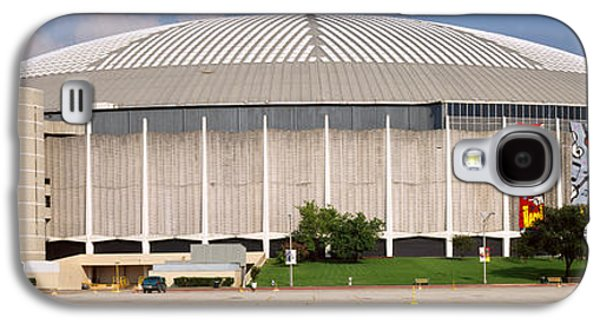 Building Exterior Galaxy S4 Cases - Baseball Stadium, Houston Astrodome Galaxy S4 Case by Panoramic Images