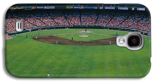 Baseball Uniform Galaxy S4 Cases - Baseball Stadium, San Francisco Galaxy S4 Case by Panoramic Images