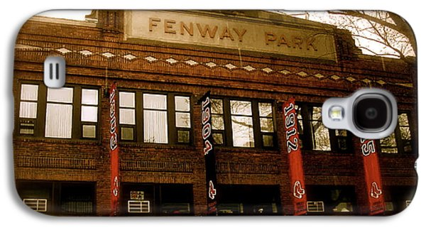Baseballs Classic  V Bostons Fenway Park Galaxy S4 Case by Iconic Images Art Gallery David Pucciarelli