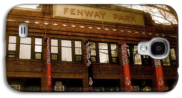 Images Galaxy S4 Cases - Baseballs Classic  V Bostons Fenway Park Galaxy S4 Case by Iconic Images Art Gallery David Pucciarelli