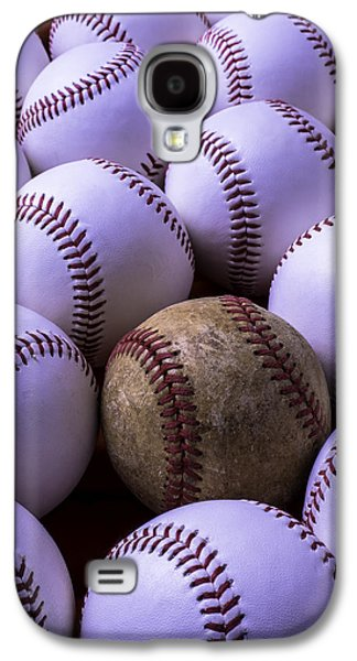 Sports Photographs Galaxy S4 Cases - Baseballs  Galaxy S4 Case by Garry Gay