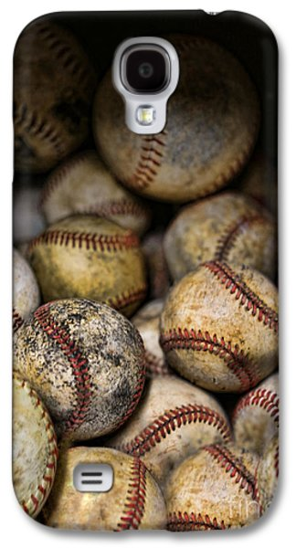 Sports Photographs Galaxy S4 Cases - Baseballs  Galaxy S4 Case by Lee Dos Santos