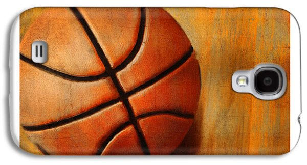 Running Digital Galaxy S4 Cases - Basket Ball Galaxy S4 Case by Craig Tinder