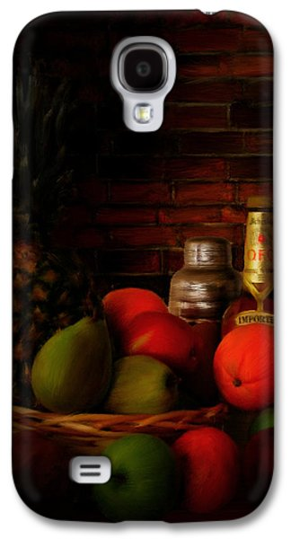Whisky Galaxy S4 Cases - Basket Of Colors Galaxy S4 Case by Lourry Legarde