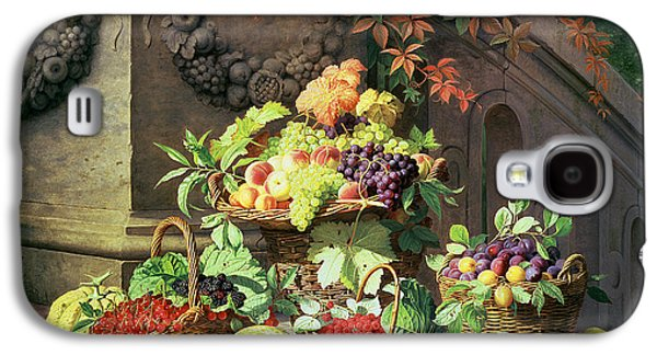 Baskets Of Summer Fruits Galaxy S4 Case by William Hammer