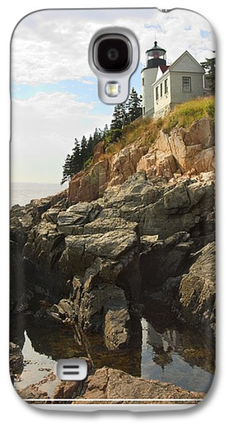Ocean Scenes Galaxy S4 Cases - Bass Harbor Head Lighthouse Galaxy S4 Case by Mike McGlothlen