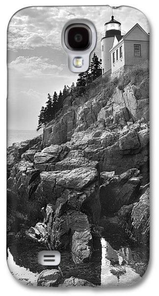 Maine Galaxy S4 Cases - Bass Harbor Light Galaxy S4 Case by Mike McGlothlen