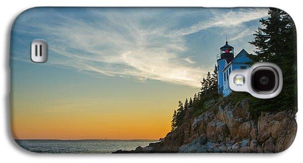 Maine Lighthouses Galaxy S4 Cases - Bass Harbor Lighthouse Galaxy S4 Case by Diane Diederich