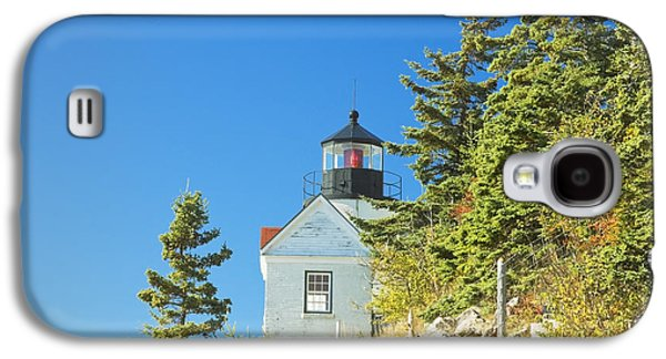 Maine Lighthouses Galaxy S4 Cases - Bass Harbor Lighthouse Mount Desert Island Maine Galaxy S4 Case by Keith Webber Jr