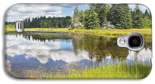 Wetlands Galaxy S4 Cases - Bass Harbor Marsh - Summer - Acadia National Park - Maine Galaxy S4 Case by Keith Webber Jr