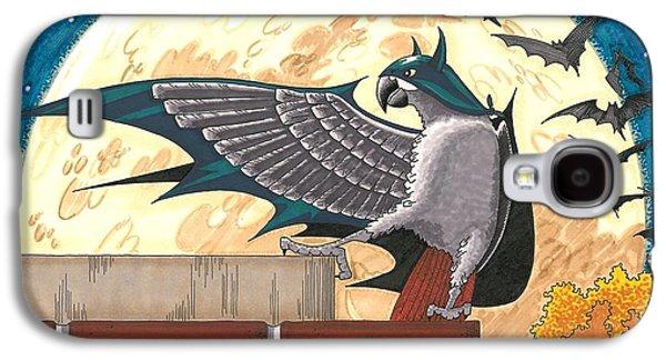 Crime Fighter Galaxy S4 Cases - Bat Bird Galaxy S4 Case by Drisdan